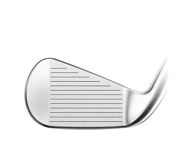 Titleist T300 Iron head shot in the face angle position