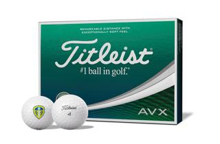Titleist AVX Dozen Box with Leeds United FC Logo