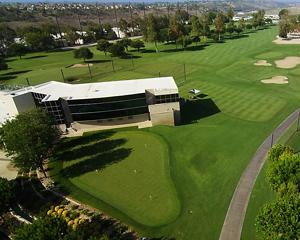 Aerial view of Titleist Performance Institute