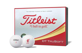 Titleist DT TruSoft with Liverpool Logo