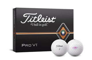 Pro V1 Dozen Pack with #1 Golf Ball and Mother's Day Logo Golf Ball