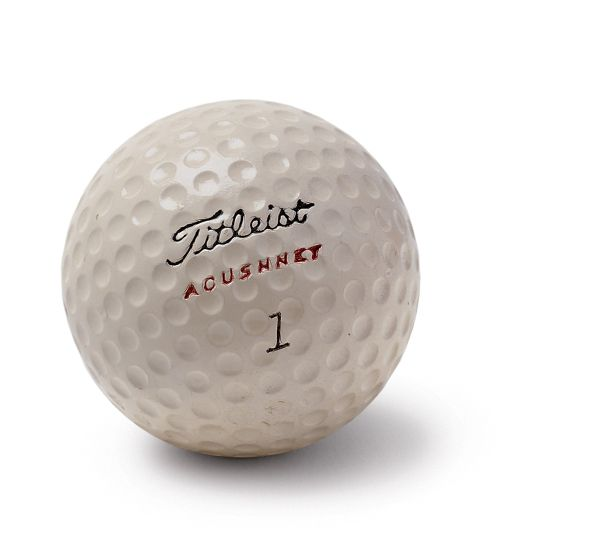 First Titleist Ball