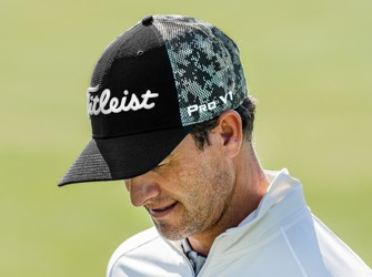 Adam Scott Titleist Camo Hat