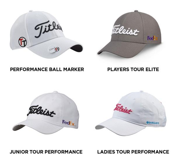 Titleist Golf Headwear Custom Options