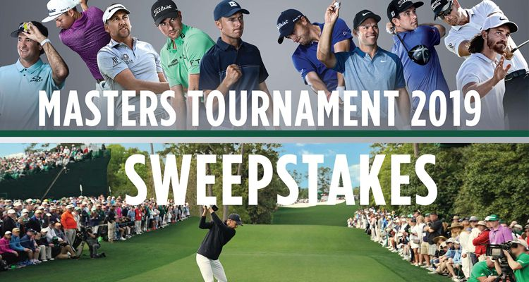 Masters Sweepstakes 2019