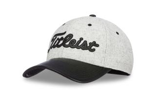 Titleist Wool & Hide - Patch Panel Golf Hat