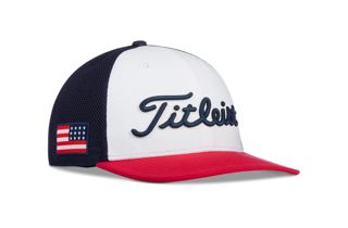USA Flag Tour Snapback Mesh