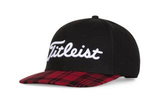 Titleist Buffalo Plaid Wool Semi Curve Hat