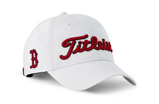 Boston Red Sox Titleist Golf Hat in White