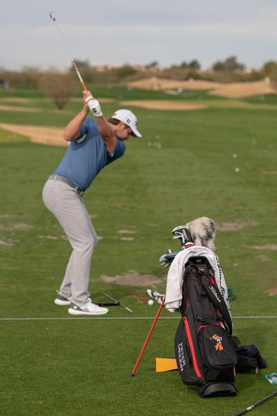 Peter Uihlein Players 4 Plus Golf Bag Waste Management Open