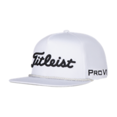 Titleist Tour Rope Flat Bill Adjustable Headwea Golf Club