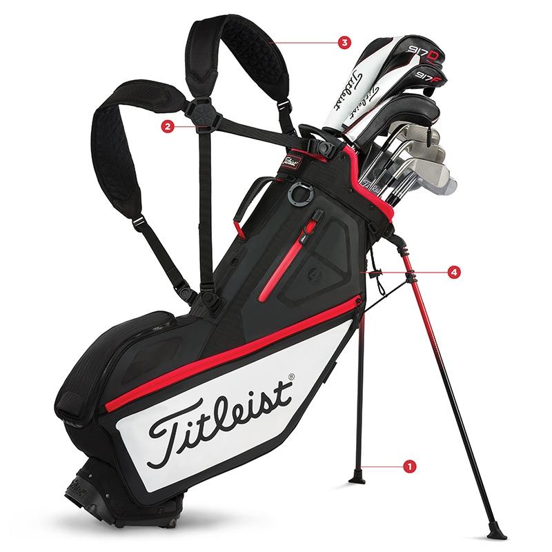 Players 4 Golf Stand Bag
