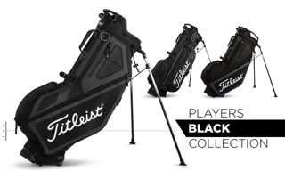 Players Black Color Golf Bags