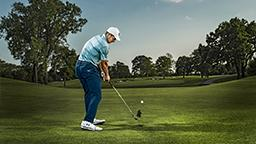 Jordan Spieth Hitting The Titleist T100 Golf Club Iron