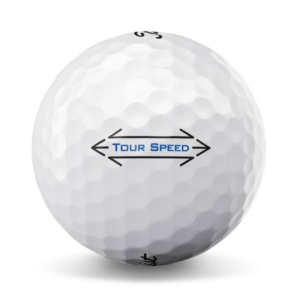 Tour Speed Golf Ball Side Stamp