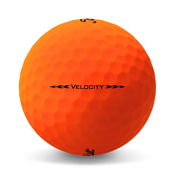 Velocity Matte Orange Side Stamp
