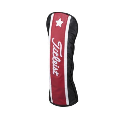 Driver Head Cover (Black / White / Red)