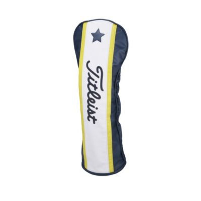 Driver Head Cover (Navy / Yellow / White)