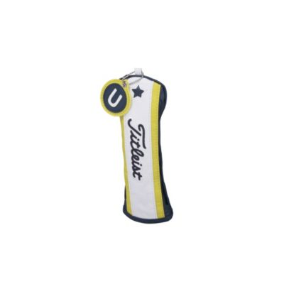 Hybrid Head Cover (Navy / Yellow / White)