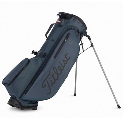 Players 4 Plus Golf Bag Charcoal and Black