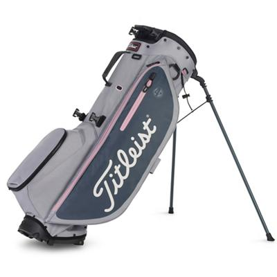 Players 4 Plus Golf Bag Sleet Charcoal and Petal