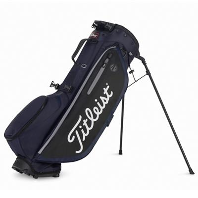 Players 4 Plus Golf Bag Navy Black and Sleet