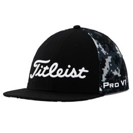 Titleist Snow Camo Tour Flat Bill Mesh