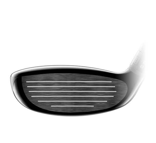 TS2 Hybrid Golf Club Face close up