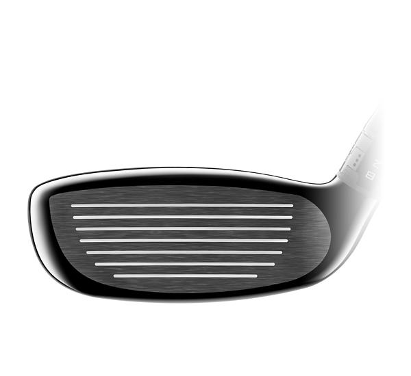 TS3 Hybrid Golf Club Face close up