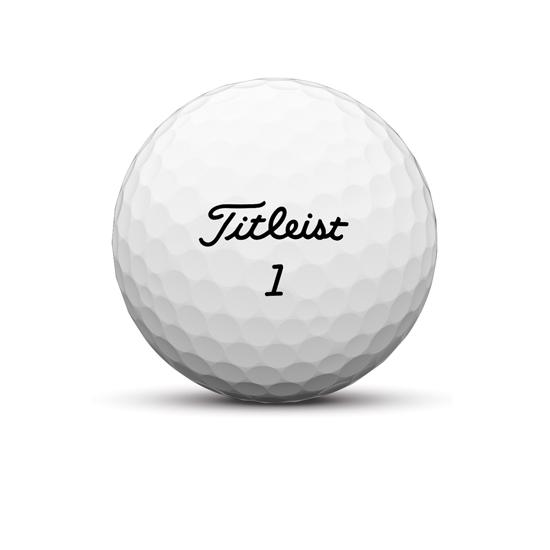 Tour soft name plate golf ball