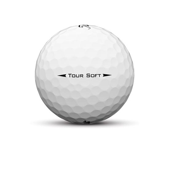 Tour soft sidestamp golf ball