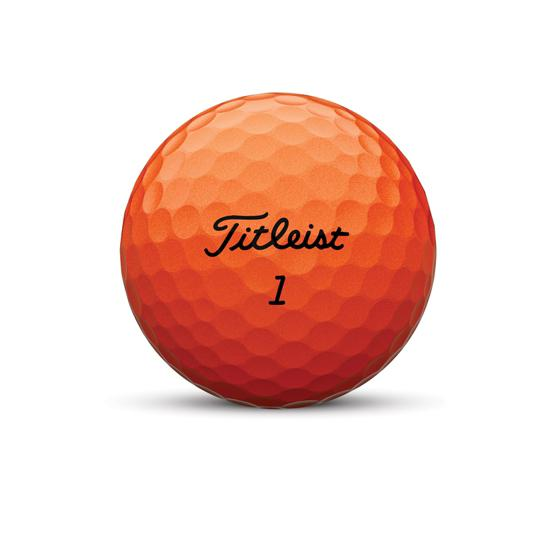 Velocity Golf Ball Orange Nameplate
