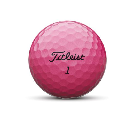Velocity Golf Ball Pink Nameplate