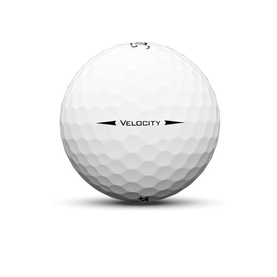 Velocity Golf Ball White Sidestamp