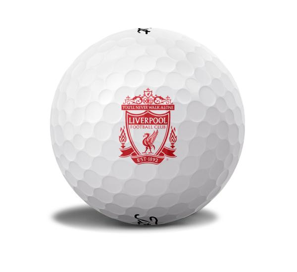 Liverpool Golf Ball Licensed Logos