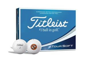 Titleist Tour Soft with Dundee United FClogo golf balls