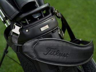 Closeup of Players 4 Premium Golf Bag