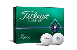 Titleist AVX Dozen Box with Scottish FA Logo