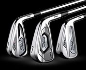 Three Titleist 718 Irons