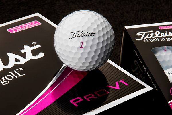 PRO V1 WITH PINK PLAY NUMBER