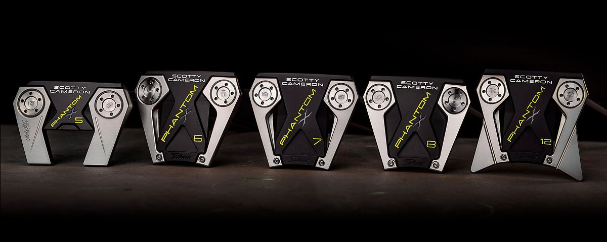 Scotty Cameron Phantom X putter lineup