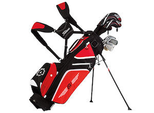 Vokey Ultra Lightweight Stand Bag - Black/Red/White