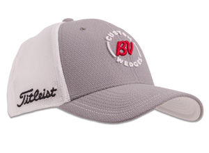 BV Custom Wedges Stretch Tech Cap - Charcoal/White
