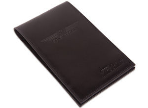 Vokey Design Leather Yardage Book & Scorecard Holder - Black